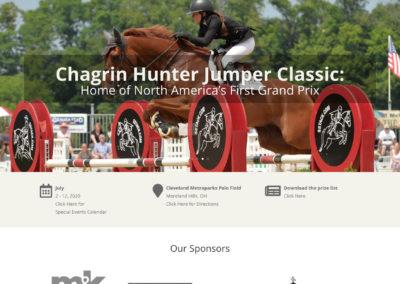 Chagrin Hunter Jumper Classic website