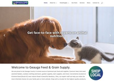 Geauga Feed website