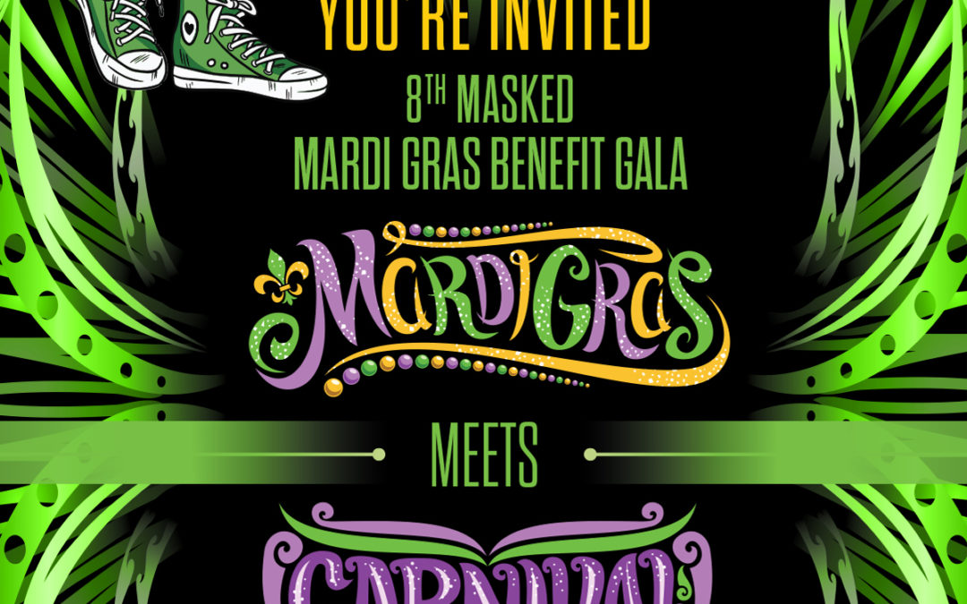 Mardi Gras Invitation for the Western Reserve Chapter of The Links, Incorporated