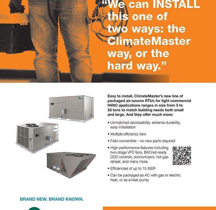 """ClimateMaster """"Install"""""""