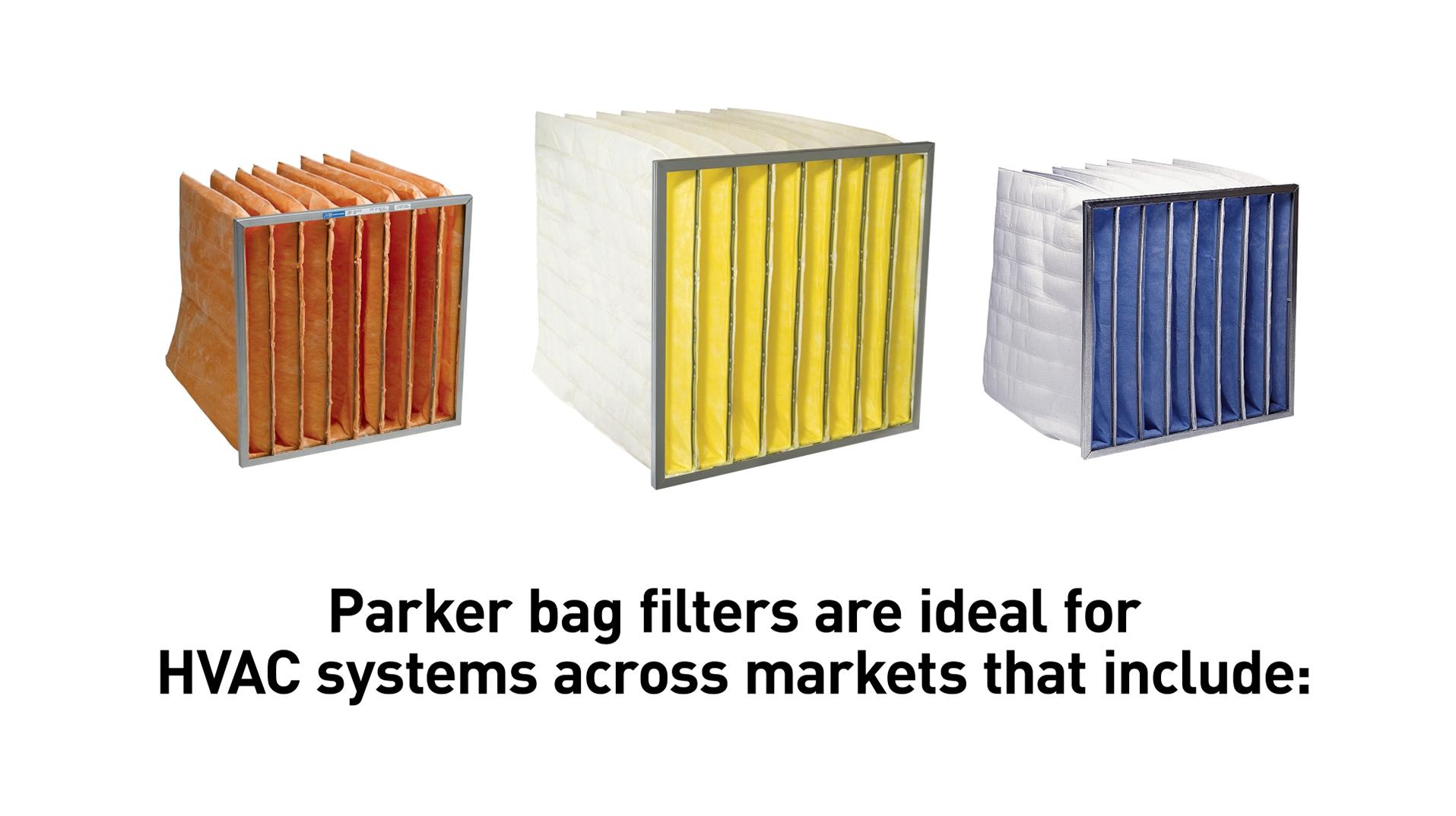 Parker HVAC Clean-Pak Filter